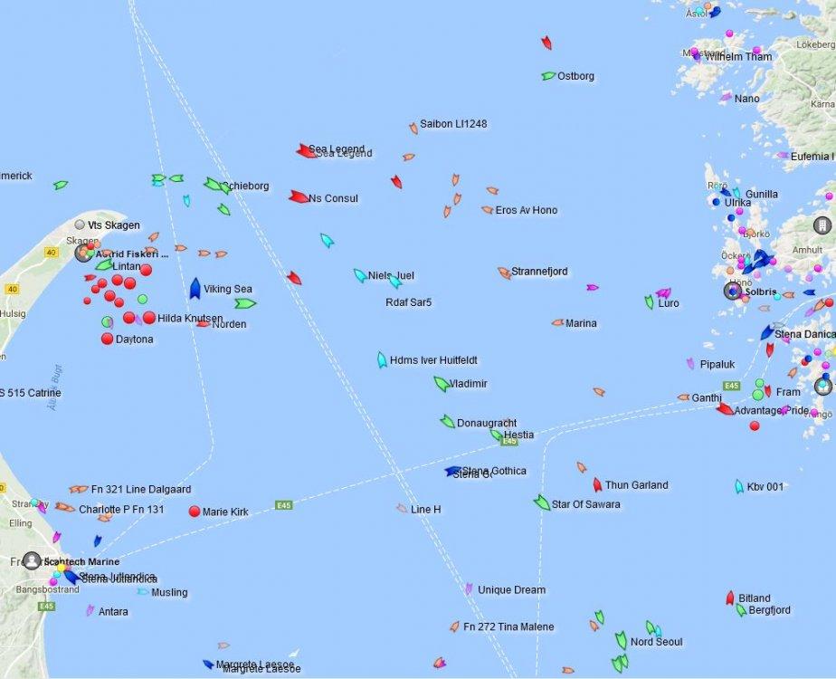 Skärmklipp Hela danska flottan utanför Skagen.JPG