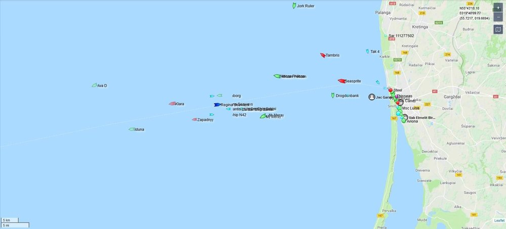 Skärmklipp Regina Seaways nu under gång mot Klaipeda.JPG